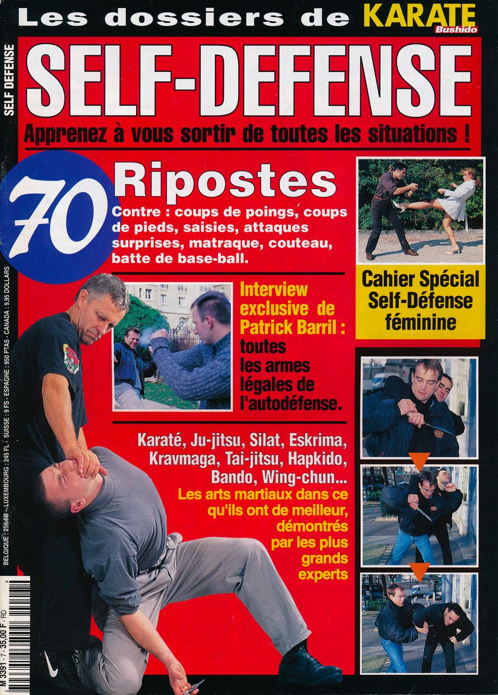 Self défense contre couteau