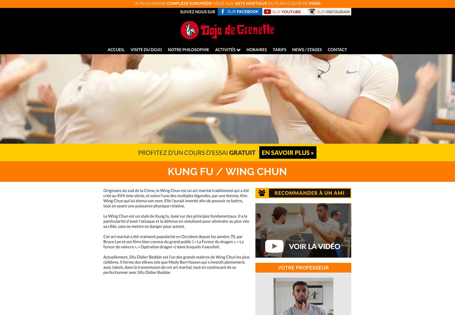 Kung Fu / Wing Chun