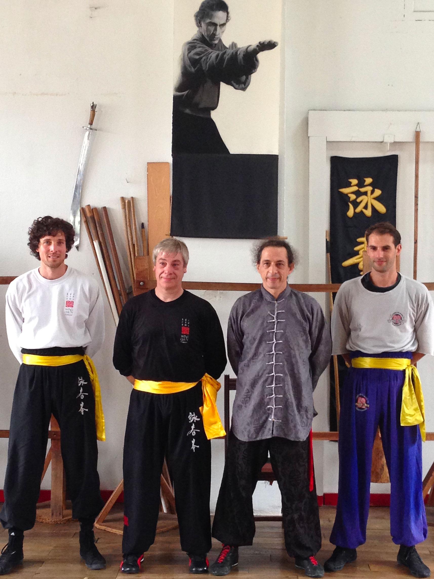 Didier Beddar, Adrien Jeunemaitre, Johan Merley, Herve Camellini