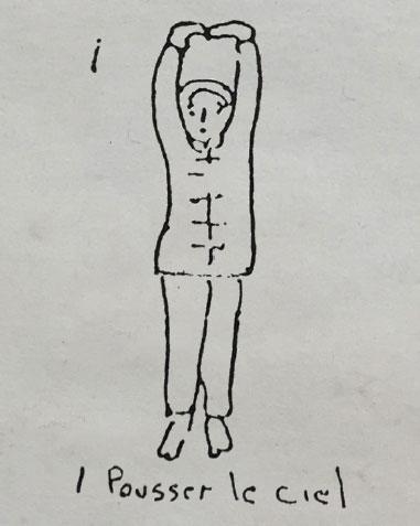 Ba Duan Jin - Figure 1