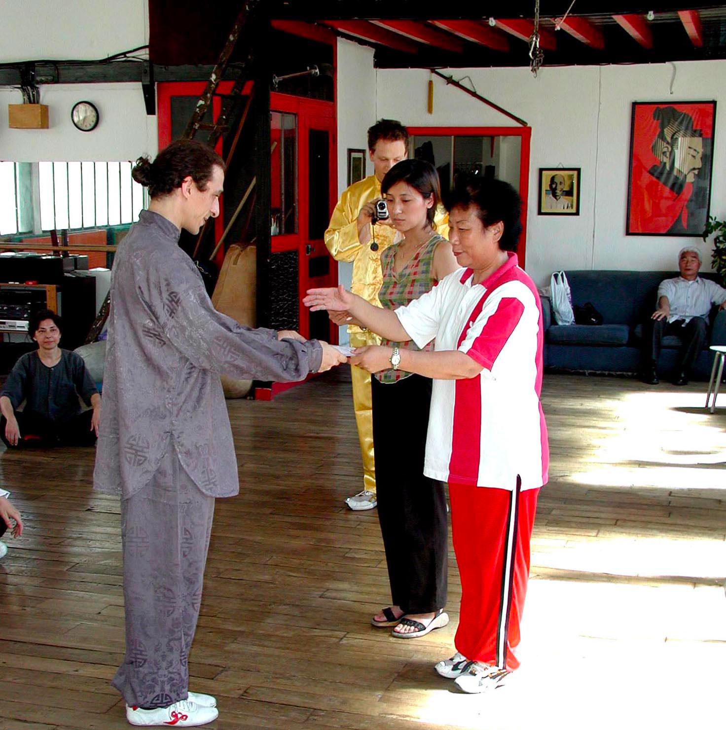 2003 - Taijiquan Sifu Didier Beddar