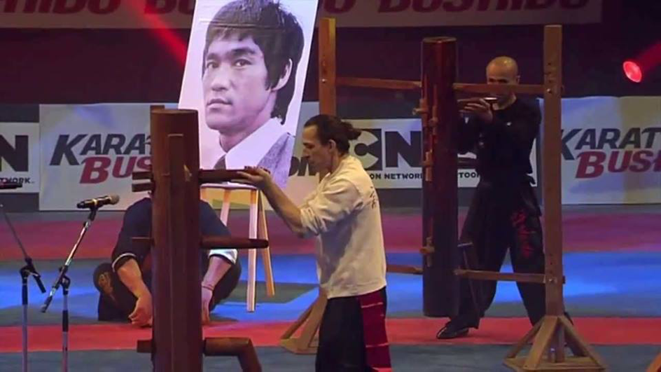Wing Chun Mook Jong Sifu Didier Beddar